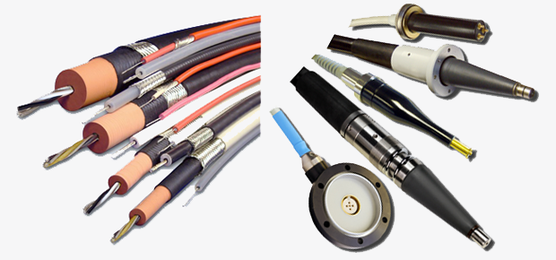 High Voltage Cable, HV Termination, Feed-Through Bushing