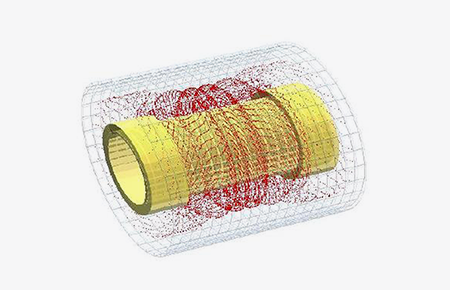Electromagnetic / Charged Particle Simulation